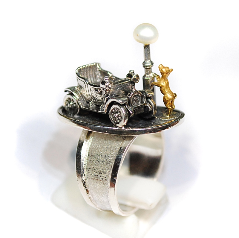 "кольцо ""Каштанка"""